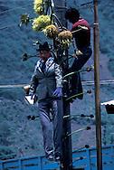 Guatemala. holy week; Easter celebrations   /  maximon celebration  Zunil  Guatemala       /   Paques: la semaine sainte   /  Le culte de Maximon ? Zunil  Zunil  Guatemala    /  R00009/18    L0007339  /  R00009  /  P0004117