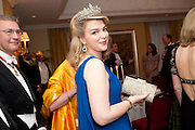 LADY DALMANY, The Royal Caledonian Ball 2011. In aid of the Royal Caledonian Ball Trust. Grosvenor House. London. W1. 13 May 2011.<br /> <br />  , -DO NOT ARCHIVE-© Copyright Photograph by Dafydd Jones. 248 Clapham Rd. London SW9 0PZ. Tel 0207 820 0771. www.dafjones.com.