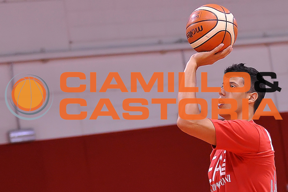 Simone Fontecchio <br /> Allenamento EA7 Emporio Armani Olimpia Milano <br /> Lega Basket Serie A 2016/2017<br /> Milano 20/08/2016<br /> Foto Ciamillo-Castoria
