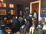 HISD students at the 2016 Democracy in Action Seminar in Washington, D.C.