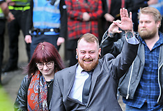 Nazi salute dog owner sentencing, Airdrie, 23 April 2018