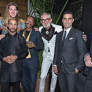 NLD/Amsterdam/20191114 - Uitreiking Esquires Best Geklede Man 2019, genomineerden Pieter de Waard, Splinter Chabot, Frank van der Lende, Kenneth Perez