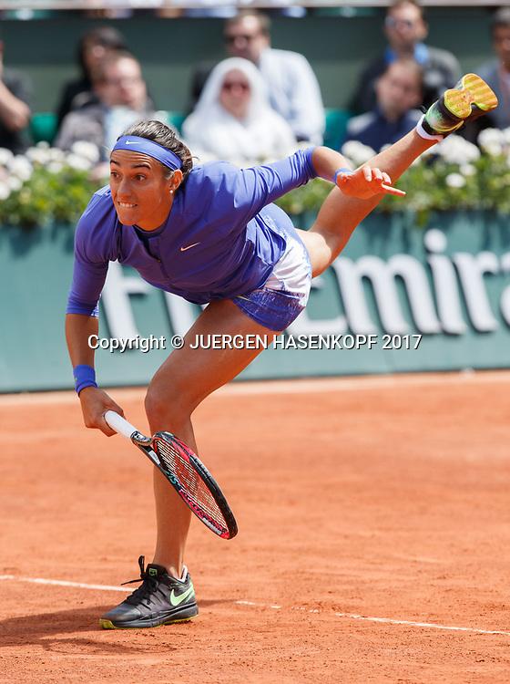 CAROLINE GARCIA (FRA)<br /> <br /> Tennis - French Open 2017 - Grand Slam / ATP / WTA / ITF -  Roland Garros - Paris -  - France  - 7 June 2017.