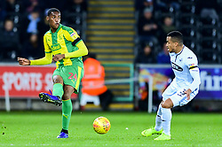 Tosin Adarabioyo of West Bromwich Albion is marked by Martin Olsson of Swansea City - Mandatory by-line: Ryan Hiscott/JMP - 28/11/2018 - FOOTBALL - Liberty Stadium - Swansea, England - Swansea City v West Bromwich Albion - Sky Bet Championship