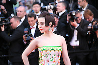 Actress Fan Bingbing at the gala screening of the film Moonrise Kingdom at the 65th Cannes Film Festival. Wednesday 16th May 2012, the red carpet at Palais Des Festivals in Cannes, France.
