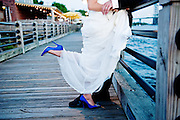 NC Wedding Blue Shoes