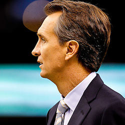 Oct 31, 2010; New Orleans, LA, USA; Television announcer Chris Collinsworth on the field prior to kickoff of a game between the New Orleans Saints and the Pittsburgh Steelers at the Louisiana Superdome. Mandatory Credit: Derick E. Hingle