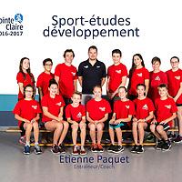 Sport-études développement