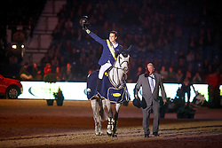 Philippaerts Olivier, (BEL), H&M Legend Of Love <br /> Grand Prix Topsport Vlaanderen<br /> Vlaanderen Kerstjumping - Memorial Eric Wauters - <br /> Mechelen 2015<br /> © Hippo Foto - Dirk Caremans<br /> 29/12/15