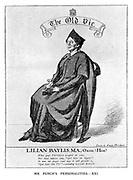 Mr Punch's Personalities. XXI. Lilian Baylis, MA, Oxon.(Hon)