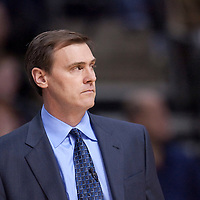 23 january 2009: Rick Carlisle, head coach of the Dallas Mavericks, is seen during the Dallas Mavericks 112-91 victory over the Detroit Pistons, at the Palace of Auburn Hills, in Detroit, Michigan, USA.