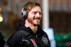 Gareth Steenson of Exeter Chiefs arrives at Harlequins - Mandatory by-line: Robbie Stephenson/JMP - 30/11/2018 - RUGBY - Twickenham Stoop - London, England - Harlequins v Exeter Chiefs - Gallagher Premiership Rugby