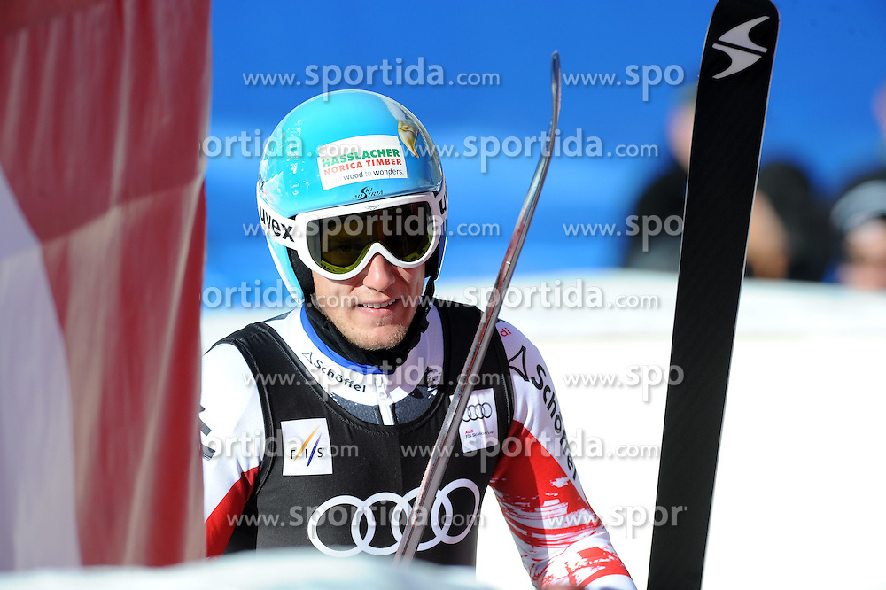 02.12.2014, Birds of Prey Course, Beaver Creek, USA, FIS Weltcup Ski Alpin, Beaver Creek, Herren, Abfahrt, 1. Training, im Bild Georg Streitberger (AUT) // Georg Streitberger of Austria reacts during the men's Downhill 1st practice run of FIS Ski World Cup at the Birds of Prey Course in Beaver Creek, United States on 2014/12/02. EXPA Pictures © 2014, PhotoCredit: EXPA/ Erich Spiess