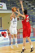 Frosinone, 24/05/2013<br /> Basket, Nazionale Italiana Femminile<br /> Amichevole<br /> Italia - Bulgaria<br /> Nella foto: benedetta bagnara<br /> Foto Ciamillo