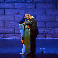 Toluca, México (Octubre 05, 2018).- Con gran éxito se presento la ópera Turandot en el Teatro Morelos, con la participación de  más de 250 actores y el acompañamiento de la Orquesta Filarmónica de Toluca.  Agencia MVT / Crisanta Espinosa.