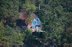 Geodesic Dome, Stuart Island, Washington, US