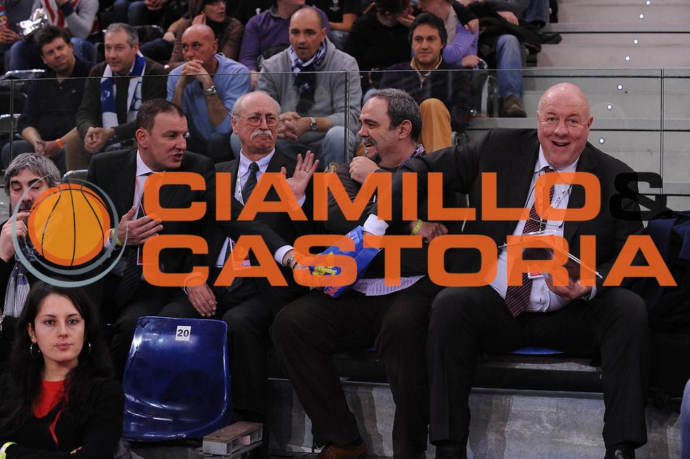DESCRIZIONE : Torino Coppa Italia Final Eight 2012 Semifinale Scavolini Siviglia Pesaro Bennet Cantu<br /> GIOCATORE : Fabio Facchini Luciano Zancanella<br /> CATEGORIA : <br /> SQUADRA : <br /> EVENTO : Suisse Gas Basket Coppa Italia Final Eight 2012<br /> GARA : Scavolini Siviglia Pesaro Bennet Cantu <br /> DATA : 18/02/2012<br /> SPORT : Pallacanestro<br /> AUTORE : Agenzia Ciamillo-Castoria/M.Marchi<br /> Galleria : Final Eight Coppa Italia 2012<br /> Fotonotizia : Torino Coppa Italia Final Eight 2012 Semifinale Scavolini Siviglia Pesaro Bennet Cantu<br /> Predefinita :