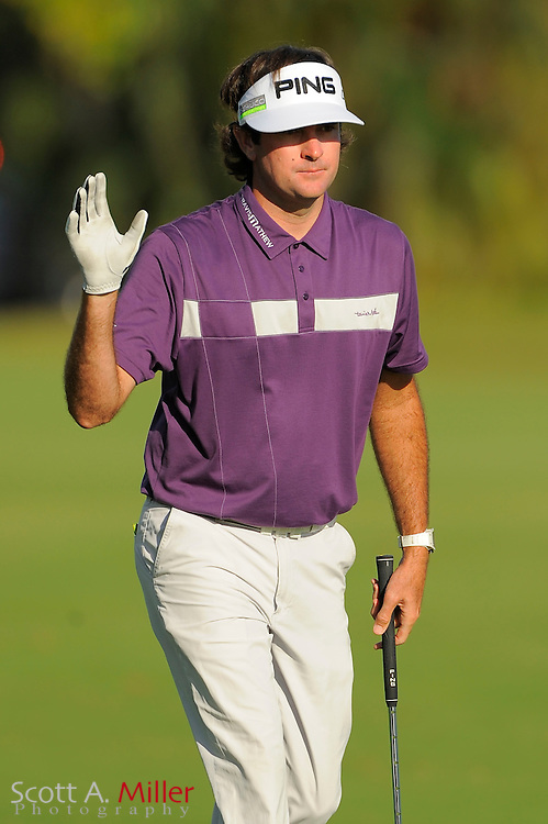Bubba Watson during the third round of the World Golf Championship Cadillac Championship on the TPC Blue Monster Course at Doral Golf Resort And Spa on March 10, 2012 in Doral, Fla. ..©2012 Scott A. Miller.