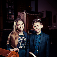 13.01.2015<br /> Bar and Bat Mitzvah Shoot with Emily and Oliver Small, at Woodside Park Synagogue, London. © Blake Ezra Photography 2015