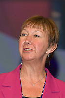 Judy Moorhouse, Executive, speaking at the NUT Conference 2008, Manchester...© Martin Jenkinson, tel 0114 258 6808 mobile 07831 189363 email martin@pressphotos.co.uk. Copyright Designs & Patents Act 1988, moral rights asserted credit required. No part of this photo to be stored, reproduced, manipulated or transmitted to third parties by any means without prior written permission   NUT08