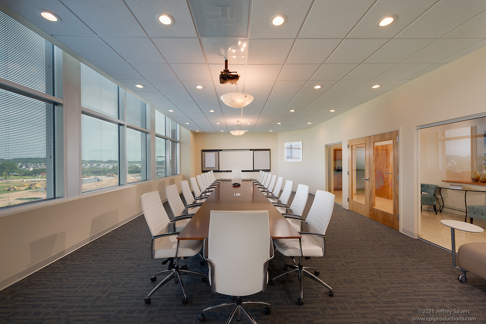 Office interior image of Mosaic in Maple Lawn Corporate Center in Marylad by Jeffrey Sauers of Commercial Photographics, Architectural Photo Artistry in Washington DC, Virginia to Florida and PA to New England
