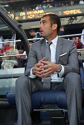 Barcelona manager Pep Guardiola. Barcelona v Osasuna (0-1), La Liga, Nou Camp, Barcelona, 23rd May 2009.