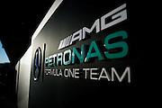 October 21, 2016: United States Grand Prix. Mercedes detail
