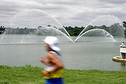 Belo Horizonte_MG, Brasil...Volta Internacional da Pampulha, uma corrida internacional ao redor da Lagoa da Pampulha, com trajeto de 18KM...Pampulha Lagoon International Race, the course is about 18k long. ..Foto: LEO DRUMOND / NITRO