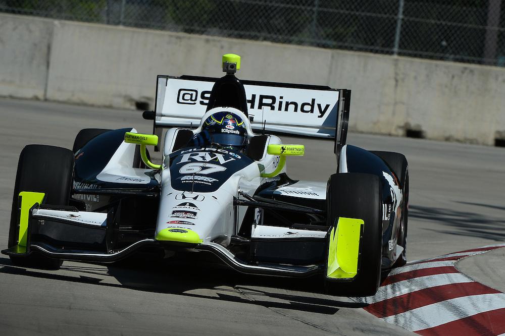 Josef Newgarden, The Raceway at Belle Isle Park, Detroit, MI USA 6/1/2014