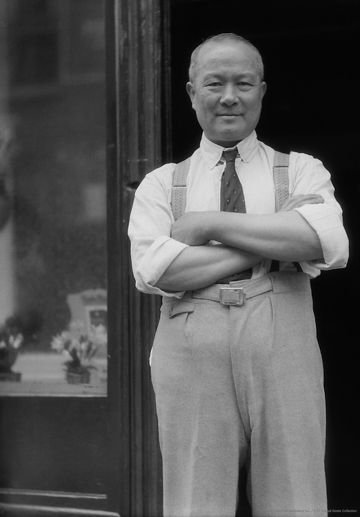Chinese Restuarant Proprietor, Limehouse Causeway, Chinatown, London, 1933