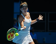 BELINDA BENCIC (SUI))<br /> <br /> Tennis - Australian Open 2018 - Grand Slam / ATP / WTA -  Melbourne  Park - Melbourne - Victoria - Australia  - 17 January 2018.