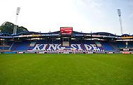 Vanaf het voetbalseizoen 2008-2009 heeft Willem II LED reclameborden in het stadion<br /> De KingSide met sponsor MASITA als voorbeeld<br /> Foto: Geert van Erven