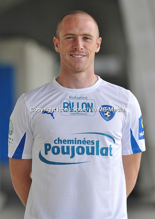 Florian MARTIN - 26.10.2013 - Photo Officielle - Niort -<br /> Photo : Icon Sport
