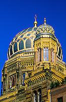 New synagogue (Neue Synagoge Berlin), Oranienburgerstrasse, Mitte, Berlin, Germany