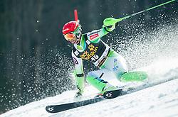 KUERNER Miha of Slovenia competes during 1st Run of Men Slalom race of FIS Alpine Ski World Cup 54th Vitranc Cup 2015, on March 15, 2015 in Kranjska Gora, Slovenia. Photo by Vid Ponikvar / Sportida