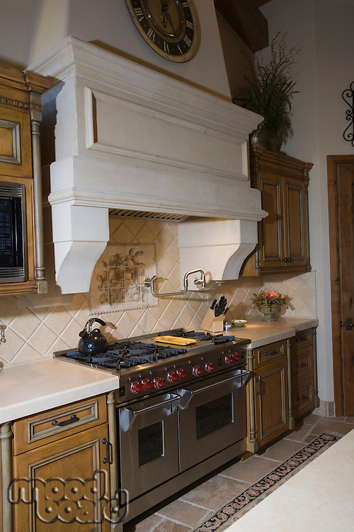 Palm Springs kitchen interior with original architectural feature
