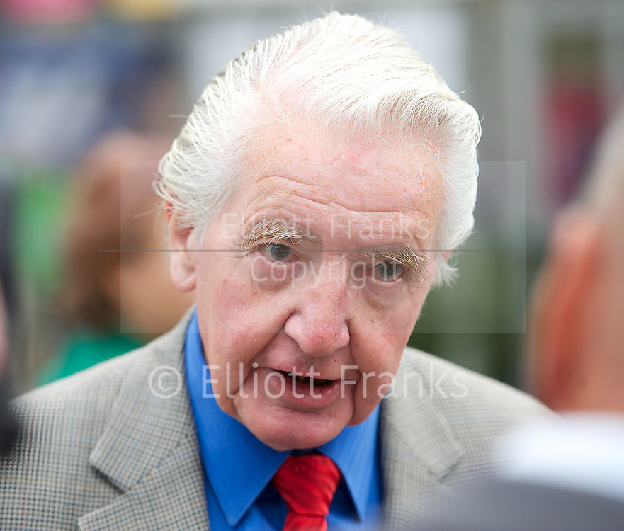 Labour Party Conference <br /> at Manchester Central, Manchester, Great Britain <br /> 23rd September 2014 <br /> <br /> <br /> Dennis Skinner <br /> <br /> <br /> Photograph by Elliott Franks <br /> Image licensed to Elliott Franks Photography Services
