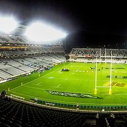 A panoramic view of the stadium before the 2017 DHL Lions Series rugby union match between the Blues and British & Irish Lions at Eden Park in Auckland, New Zealand on Wednesday, 7 June 2017. Photo: Dave Lintott / lintottphoto.co.nz