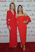 Susan Spencer, left, Editor-in-Chief, Woman's Day Magazine, welcomes actress Kate Walsh to Woman's Day Red Dress Awards, benefitting American Heart Association's Go Red For Women, Tuesday, Feb. 9, 2016, in New York. (Photo by Diane Bondareff/Invision for Go Red For Women/AP Images)