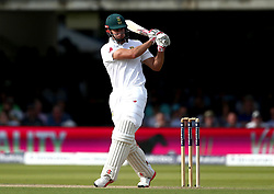 Thesis de Bruyn of South Africa plays a pull shot - Mandatory by-line: Robbie Stephenson/JMP - 07/07/2017 - CRICKET - Lords - London, United Kingdom - England v South Africa - Investec Test Series