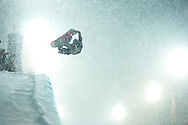 Hannah Teter during Women's Snowboard SuperPipe Finals at the 2013 X Games Tignes in Tignes, France. ©Brett Wilhelm