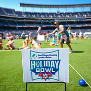 San Diego Holiday Bowl Bocce Tournament Qualcomm Stadium 2017