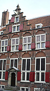 Typical architecture in Amsterdam, Holland