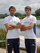 Reading, Great Britain, GBR LM2X Mark HUNTER and Zac PURCHASE. 2011 GBRowing World Rowing Championship, Team Announcement.  GB Rowing  Caversham Training Centre.  Tuesday  19/07/2011  [Mandatory Credit. Peter Spurrier/Intersport Images]