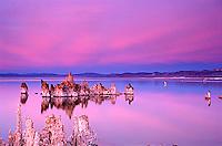 Twilight over Mono Lake, CA.<br />
