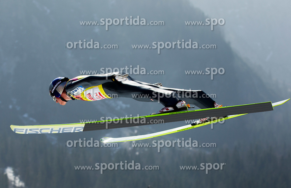 SCHLIERENZAUER Gregor (AUT) during Flying Hill Team competition at 3rd day of FIS Ski Jumping World Cup Finals Planica 2012, on March 17, 2012, Planica, Slovenia. (Photo by Vid Ponikvar / Sportida.com)