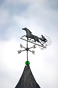 Weathervane on barn at Berkshire Coaching Weekend October 2004