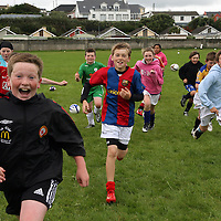 The U-12's enjoying the Ennistymon soccer camp during the week.<br /> Photograph by Yvonne Vaughan