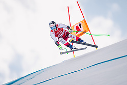 27.01.2019, Streif, Kitzbühel, AUT, FIS Weltcup Ski Alpin, SuperG, Herren, im Bild Christopher Neumayer (AUT) // Christopher Neumayer of Austria in action during his run in the men's Super-G of FIS ski alpine world cup at the Streif in Kitzbühel, Austria on 2019/01/27. EXPA Pictures © 2019, PhotoCredit: EXPA/ Johann Groder: EXPA
