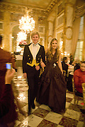 JAMES GREEN AND TANSY ASPINALL, Crillon Debutante Ball 2007,  Crillon Hotel Paris. 24 November 2007. -DO NOT ARCHIVE-© Copyright Photograph by Dafydd Jones. 248 Clapham Rd. London SW9 0PZ. Tel 0207 820 0771. www.dafjones.com.